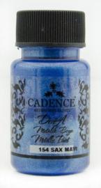 Dora metallic verf 50ml - Sax Blue - Cadence