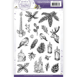 PMCS10049 Clearstempel - The Best Christmas Ever - Marieke Design