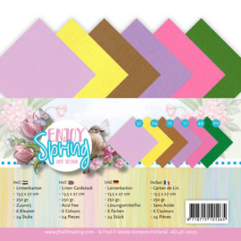 AD-4K10025 Karton 13,5 x 27 cm - Enjoy Spring - Amy Design