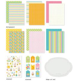473.005.007 - Crafty Kit Easter Bunnies - Dutch Doobadoo