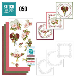 Stitch en Do nr. 50 - Rozen