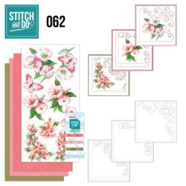 Stitch en Do nr. 62 - Bloemen en vlinders