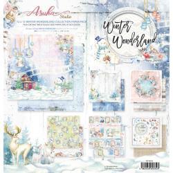Paperpad 30.5x30.5cm - Winter Wonderland - 12 vel dubbelzijdig - Memory Place - Pakketpost!