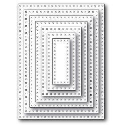 99124 Snij- embosmal - Memorybox