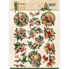 CD11358 Knipvel A4 - Christmas Gold - Amy Design