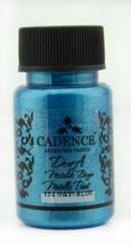 Dora metallic verf 50ml - Blauw - Cadence