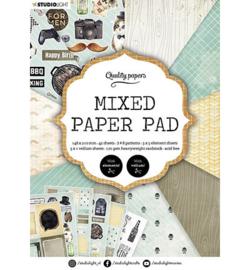 A5MPPSL160 - SL Mixed Paper Pad Pattern paper Essentials nr.160 - Studio Light