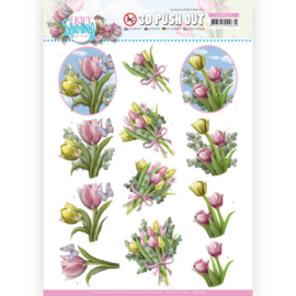SB10539 Stansvel 3D vel A4 - Enjoy Spring - Amy Design