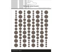 SBA011 Enamal dots 96 stuks - Simple and Basic