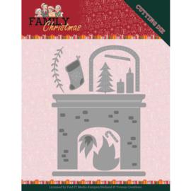 YCD10184 Snij- en embosmal - Family Christmas - Yvonne Creations