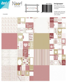 6011-0536 Scrapdesign papier - Love this Life - Joy Crafts