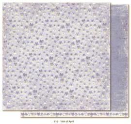 610 Scrappapier dubbelzijdig - Vintage Spring - Maja Design