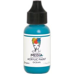 MDQ54061 Acrylic Paint 29ml - Ocean - Dina Wakley Media