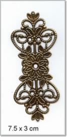 Decorations 046 - 5 stuks - Zilver