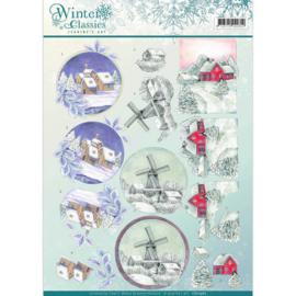 CD10967 Knipvel A4  - Winter Classic - Jenine's Art