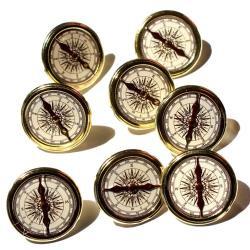 Brads - Kompas - 12 stuks