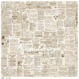 529 Scrappapier dubbelzijdig - Vintage Summer - Maja Design