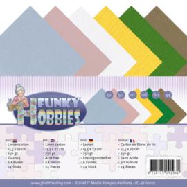 YC4K10022 karton 13.5 x 28cm  - Funky Hobbies - Yvonne Creations