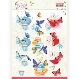CD11659 3D vel A4 - Butterfly Touch - Jeanine's Art