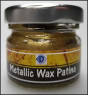 Metallic Wax Pasta 20ml - Goud