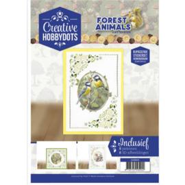 CH10012 Creative Hobbydots 12 - Forest Animals - Amy Design