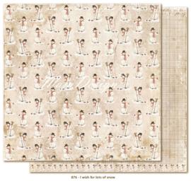 876 Scrappapier dubbelzijdig - I Wish - Maja Design