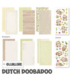473.005.006 - Slimline paper Kit Luiaard - Dutch Doobadoo