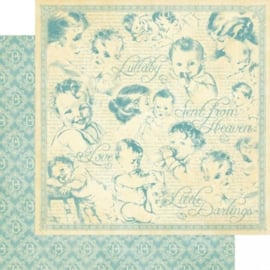 4500445 Scrappapier dubbelzijdig - Little Darlings Collection - Graphic45