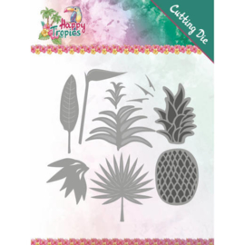 YCD10173 Snijmal  - Happy Tropical - Yvonne Creations