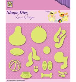 SDL047 Snij- en Embosmal - Doggy - Nellie Snellen