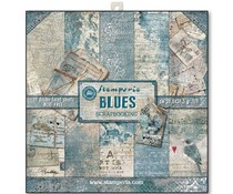 Paperpad 30.5 x 30.5 cm Blues - Stamperia