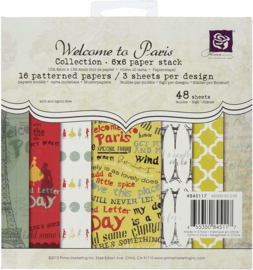 845117 Paperpad Welcome to Paris - Prima Marketing