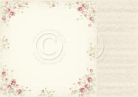 PD32003 Scrappapier Dubbelzijdig - Cherry Blossom Lane - Pion Design