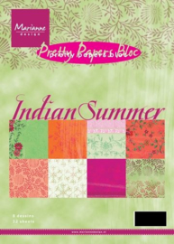 PK9076 Paperpad A5 - Indian Summer - Marianne Design