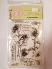 SS249 Clearstempel - Flourish
