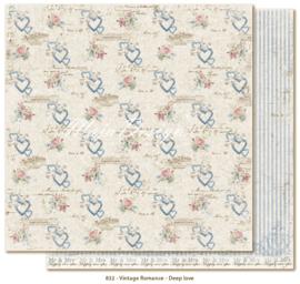 832 Scrappapier dubbelzijdig - Vintage Romance - Maja Design