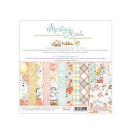 Paperpad 15.2 x 15.2cm - Kiddie - Mintay