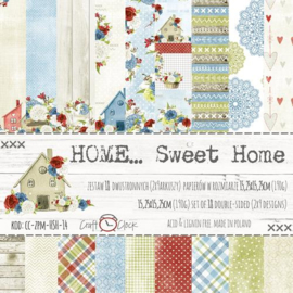 Paperpad 15,2 x 15,2 cm - Home Sweet Home - Craft-O-Clock