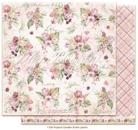 1156 Scrappapier dubbelzijdig -  Tropicial Garden - Maja Design