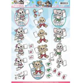 CD10829 Knipvel A4 - Card Deco