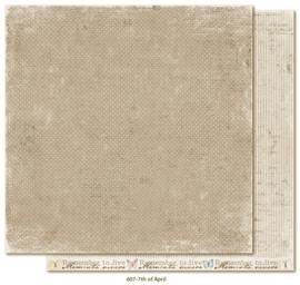 607 Scrappapier dubbelzijdig - Vintage Spring - Maja Design