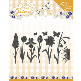 PM10115 Snij- en embosmal - Early Spring - Marieke Design