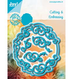 6002-1198 Snij- en embosmal - Joy Crafts