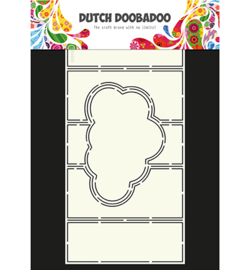470.713.326 Dutch Card Art A4 - Wolk - Dutch Doobadoo