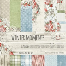 Paperpad 15,2 x 15,2 cm - Winter Moments - Craft-O-Clock