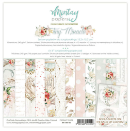 Paperpad 15x15cm - Tiny Miracle - Mintay