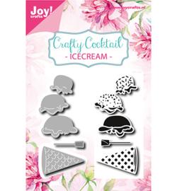 6004-0027 Snij- en embosmal + stempel - IJsje - Joy Crafts