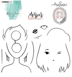 STAMPKJ05 Clearstempel - Missees - Karin Joan - Studio Light
