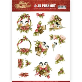 SB10460 Stansvel A4 - Touch of Christmas - Marieke Design