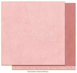 1166 Scrappapier dubbelzijdig Monochromes  -  Tropicial Garden - Maja Design